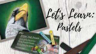 Let's Learn: Pastels (Soft Pastel, PanPastel & Pastel Pencils) | Mini Series Exploring New Mediums