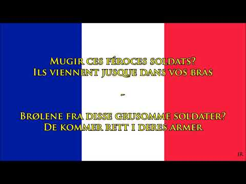 franske nasjonalsangen tekst