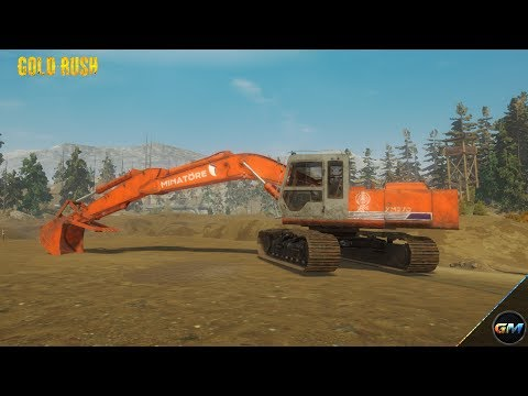Gold Rush The Game #1 Pre Alpha Test Let's Mining Tutorial