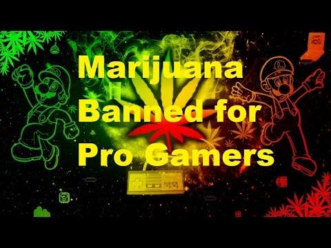 Marijuana Banned for Pro Gamers