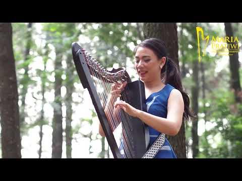 Despacito - Luis Fonsi, Justin Bieber, Daddy Yankee [Harp Cover] by Maria Pratiwi