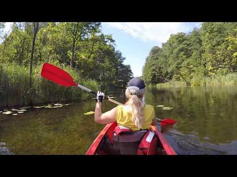 Kayaking in the Polish Amazonia - Lubuska Amazonka