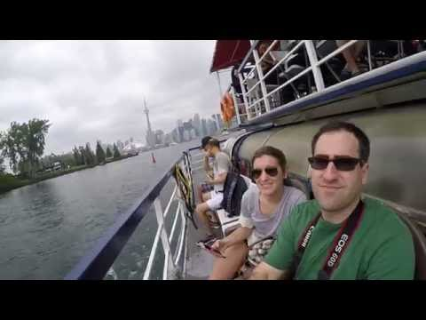SUMMER IN TORONTO CITY , CANADA - GOPRO HERO 4