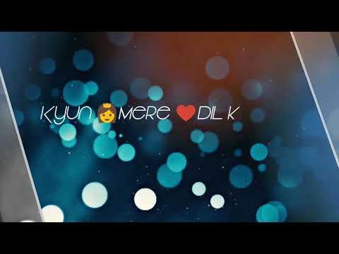 Karta Nahi Kyu Tu Mujhpe Yakin 😭😭 Female Version WhatsApp Status