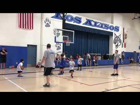 2018/11/10 Basketball Game at Los Alisos Intermediate School