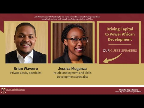 Redefine Expectations - Driving Capital to Power African Development