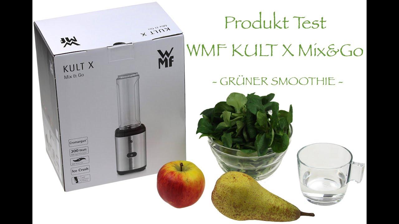63e533836 Produkt Test WMF Kult X Mix&Go Smoothie Maker   Unboxing   Grüner ...