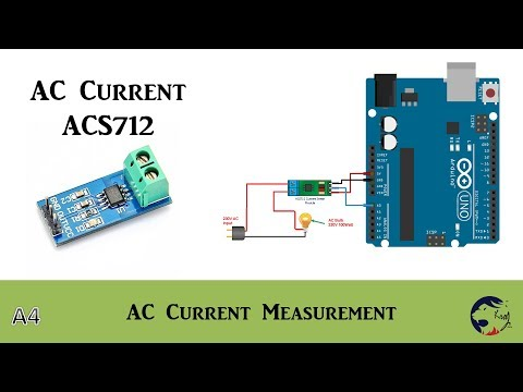 Arduino - ACS712 AC Current Measurement without Error - YouTube