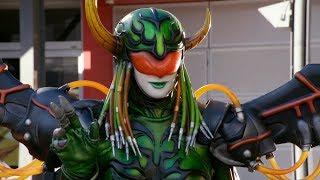 Levira in Power Rangers Super Megaforce | Female Villains Compilation