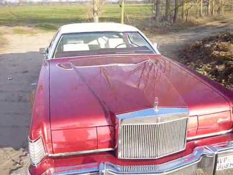 Lincoln Hood Emblem Protection Continental Mark Iv 1974 Youtube