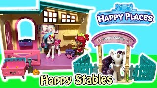 Shopkins Happy Places Season 4 Happy Stables Playset With Exclusive Ponicakes Pony & Stable Petkins