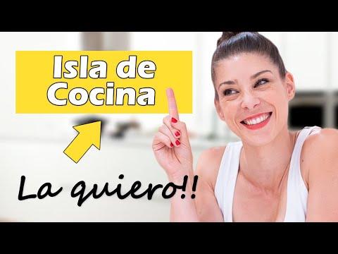COCINAS con ISLA: te cuento el SECRETO 😉 para DISEÑARLA o ELEGIRLA sin EQUIVOCARTE!!