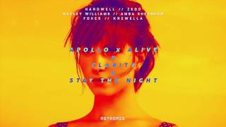 Hardwell & Zedd ft. Hayley Williams, Foxes - Apollo x Alive x Clarity x Stay The Night