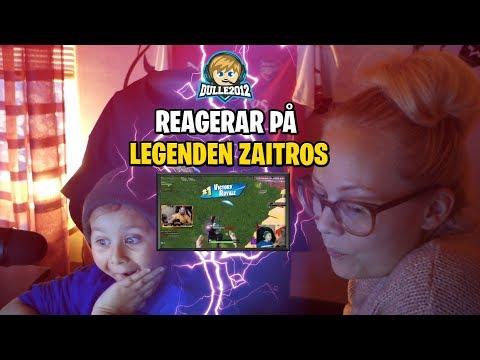 Sexåring roastar äldre gamers?!?😅 Dulle2012 reagerar på Fortnite legenden zaitr0s!