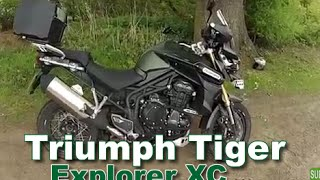 Triumph Tiger Explorer XC - Ride, review and walkaround 2015