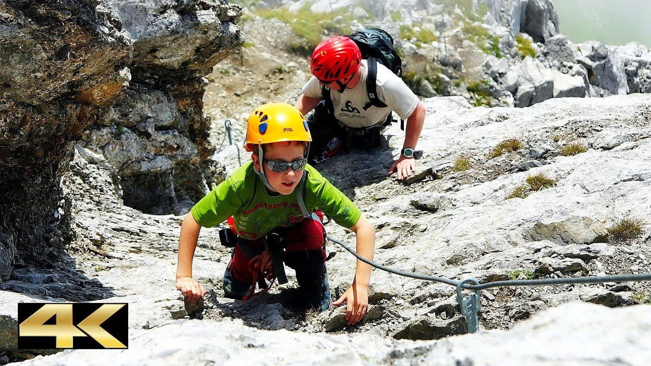 Fürenwand Klettersteig Unfall : Zittergrat rigidalstock m klettersteig youtube
