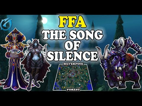 Grubby | Warcraft 3 TFT | 1.30 | FFA on Silverpine Forest - The Song of Silence