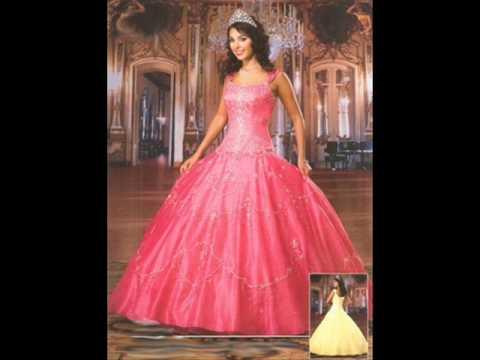 75a5af6d08 los mas bonitos vestidos para quinceanera - YouTube