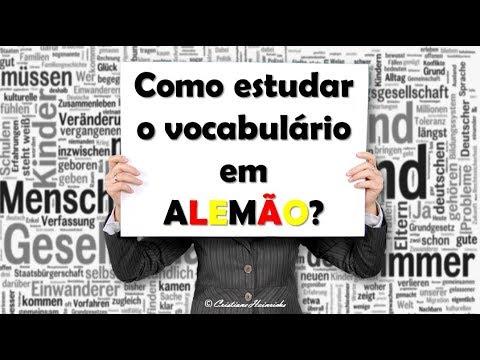 Como estudar o vocabulário em ALEMÃO de modo eficaz?