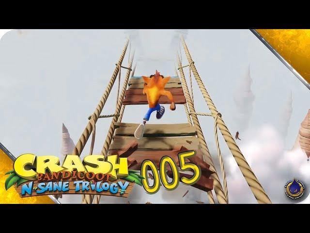 CRASH BANDICOOT - N. Sane Trilogy 🍎 [005] Mein bester Freund, der Game-Over-Screen