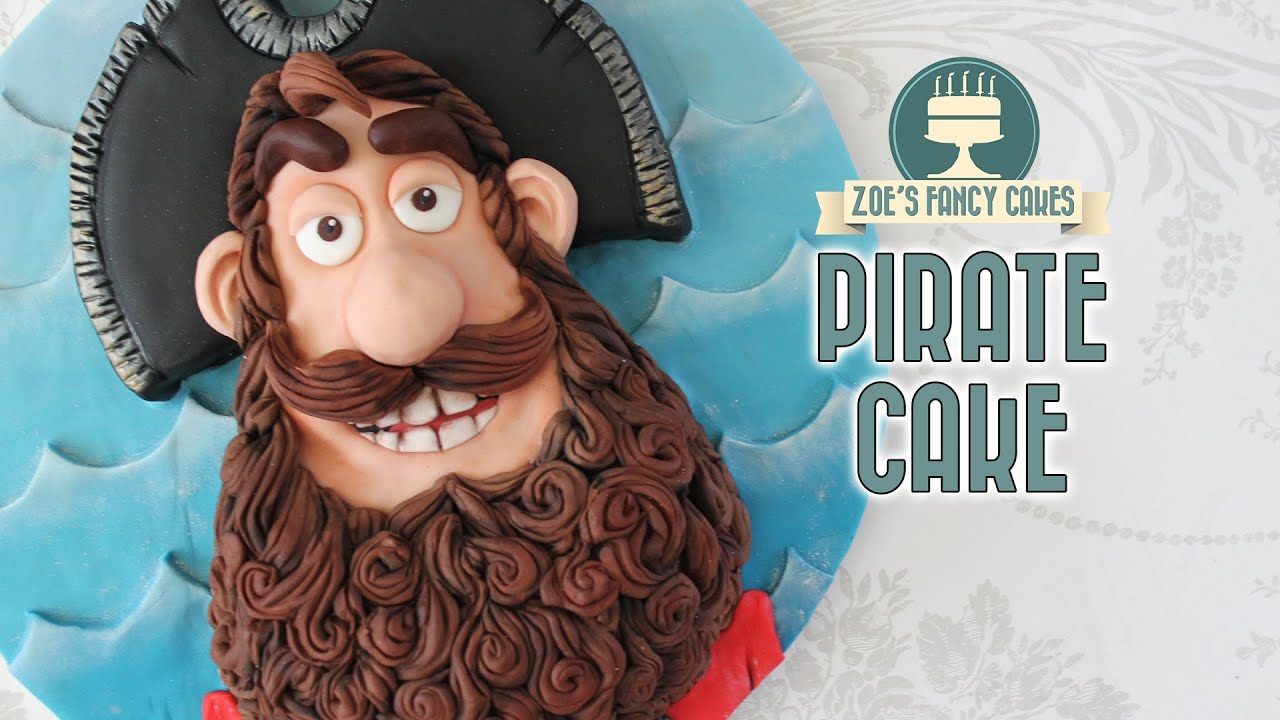 The Pirates Cake Pirate Captain Birthday Cake Youtube