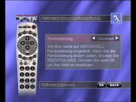 TELECLUB Decoder Menüführung (DVB-C MPEG-2 Decoder Nagravision)