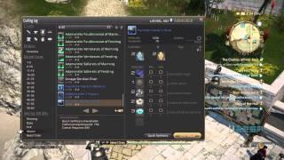 FFXIV Heavensward: 1436 Difficulty HQ crafting rotation (no specialist skills)