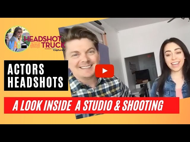 ACTORS HEADSHOTS: Look Inside a Studio + What Happens in a Session