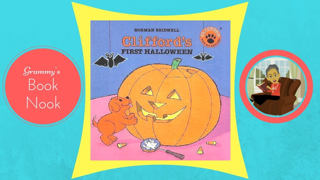 cliffords first halloween childrens books read aloud read along