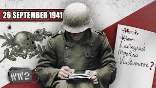 Free from the Nazi Occupation - but for how long can it last? WW2 - 109 - September 26, 1941
