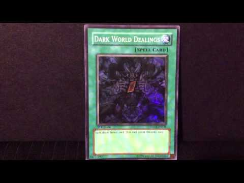 Yu-Gi-Oh - Dark World Dealings SUPER RARE