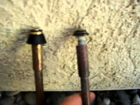 Repair A Leaky Outdoor Faucet - YouTube