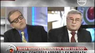 "Congreso aprobó ""Ley Mordaza"" Javier Bedoya entrevista con Beto Ortiz"