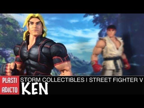 Storm Collectibles   Street Fighter V • KEN • Video Review en Español