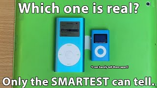 I bought the cheapest fake iPods.