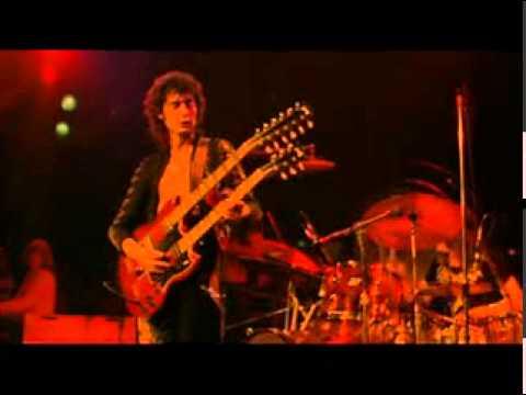 Led Zeppelin - Stairway To Heaven ( Live, 1973 ) W/ LYRICS