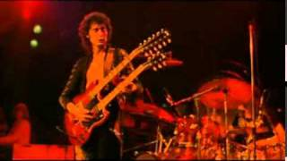 Led Zeppelin - Stairway To Heaven ( Live, 1973 ) W/ LYRICS