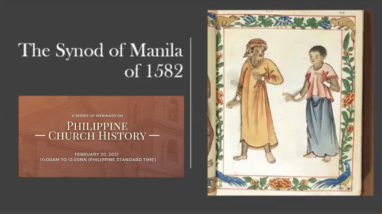 Philippine Church History: The Synod of Manila