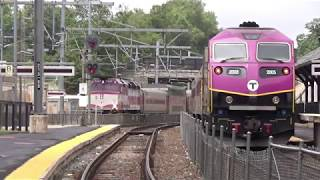 Railfanning Canton Junction with Amtrak Inspection Cars, PTC Test Trains & More!