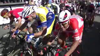 CYCLISME - 4 JOURS DE DUNKERQUE GRAND PRIX DES HAUTS DE FRANCE - ARRIVEE ETAPE 2 ST QUENTIN
