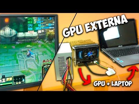 ¡Como conectar tarjeta de video a tu laptop de la manera más económica!