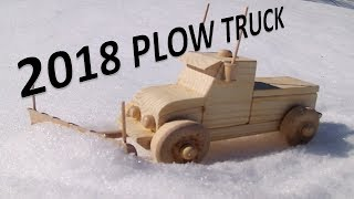 How To Make Wooden Toy Plow Truck