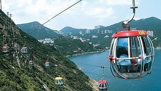 Ocean Park Hong Kong Cable Car Ride 2015
