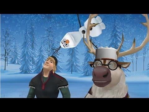 MMD Frozen  Sven and Kristoff sing DaDaDa 2D funny animation meme Disney