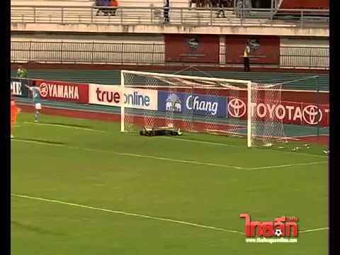 ดูบอลสด ไฮไลท์ฟุตบอลไทยพรีเมียร์ลีก 2013  สุพรรณบุรี 1-2 พัทยา ยูไนเต็ด