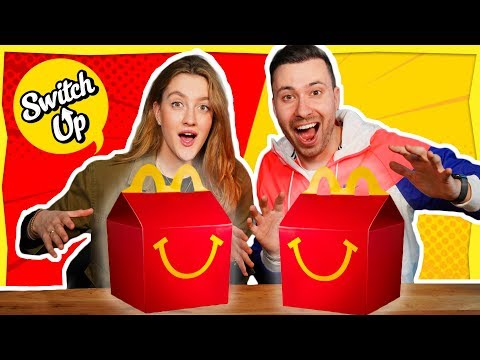 HAPPY MEAL SWITCH UP CHALLENGE! Met Lise
