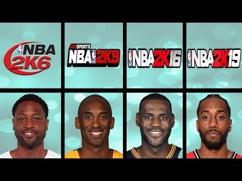 Every NBA Finals MVP Winners Rating In NBA 2K Games (NBA 2K - NBA 2K19)
