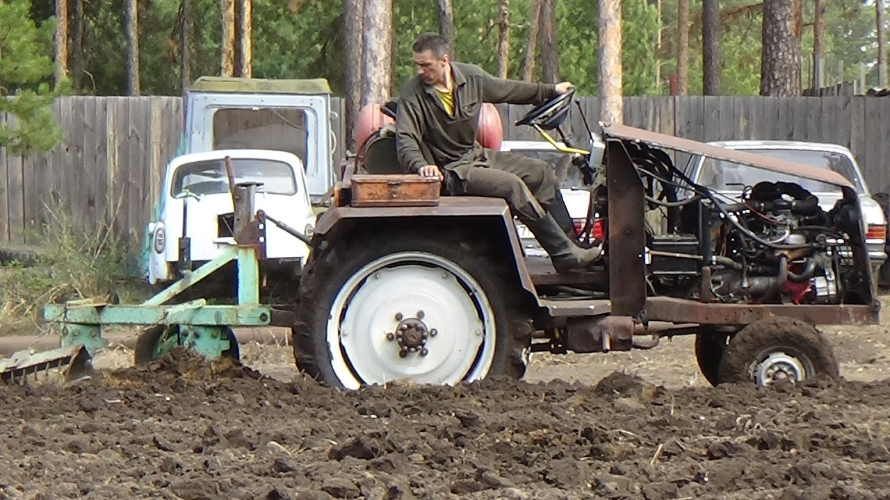 дым самодельные трактора перевозка леса и пашут фото тут ему