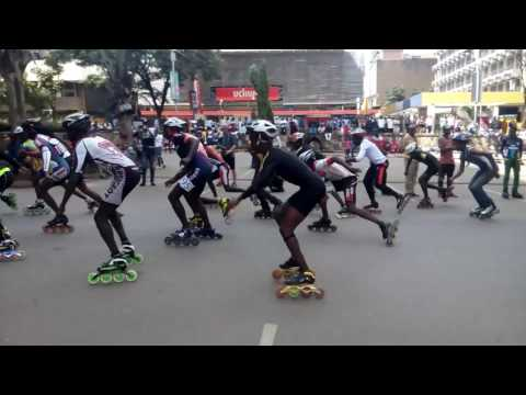 Kenya's Naijing Roller Games  qualifier video