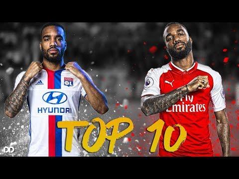 Alexandre Lacazette ● Top 10 Goals Ever ( 2010-2018) | HD